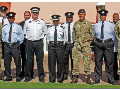 Bermuda Reserve Police Bolster Links With RBR, St John Ambulance