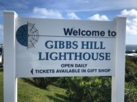 Gibb's Hill Lighthouse Closed to March 1, 2019