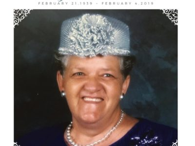 A Final Farewell to an Iconic Matriarch – Mary Esther Burchall, February 21, 1939 – February 4, 2019