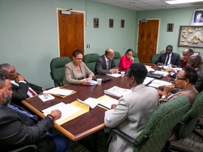 Minister Caines Meets with  Prison's Treatment of Offenders Board