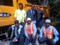 Bermuda Real Special Shout Out to Public Works West Crew on Sparkling Up Death Valley in Southampton