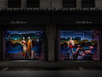 Bermuda Takes a Big Apple Bite With Street-Side Window Displays at Saks Fifth Avenue