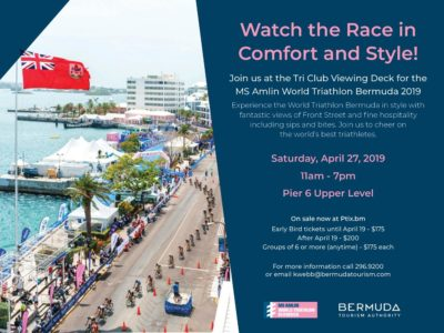 Tri-Club Viewing Deck For Triathlon Will Cost You $200 Per Person After Early Bird Special