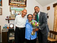 Premier Congratulates Mr & Mr Leon Burt on 61 Years of Marriage