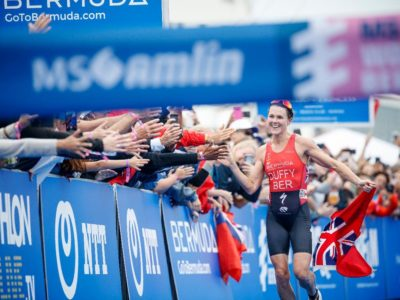 Public Urged to Attend Lunchtime Pep Rally at City Hall in Lead Up to MS Amlin World Triathlon