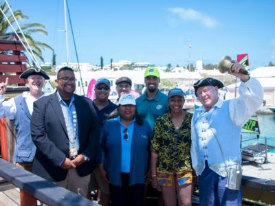 Minister Foggo Opens 4th Annual Marine Expo in St George's