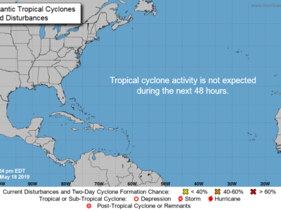 Tropical Storm Brewing Could be a Threat to Bermuda & The Bahamas Ahead of 2019 Hurricane Season