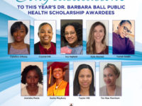 Dr. Barbara Ball Public Health Scholarship 2019 Recipients
