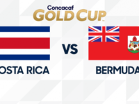 Bermuda Defeated 2-1 by Costa Rica in Concacaf Gold Cup Match