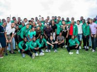 Premier Sends Encouragement to Men's National Football Team in Lead Up to Gold Cup Opener
