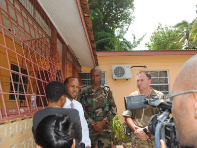 RBR Soldiers Doing an 'Excellent Job' on Multi-National Exercise Tradewinds in Caribbean