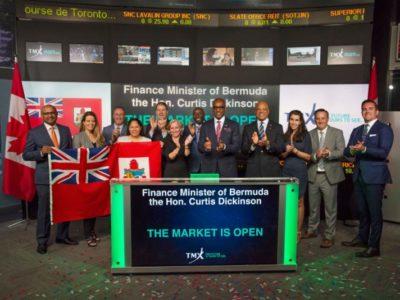 Bermuda Delegation Opens Toronto Stock Exchange