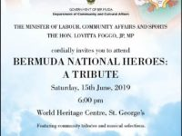 Special Recognition Event to Pay Tribute to Bermuda's National Heroes
