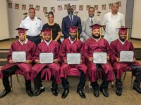 Five Inmates Earn GED's as DoP Celebrates GED Class of 2019
