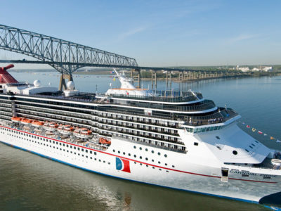 BTA: Carnival Cruise Lines Increases Scheduled Visits From 20 to 29 in 2020