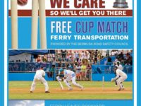 Bermuda Road Safety Council Providing Free Ferry to Cup Match in St George's Both Days