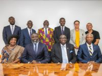 Minister Caines Meets With Ghanaian High Commission of London