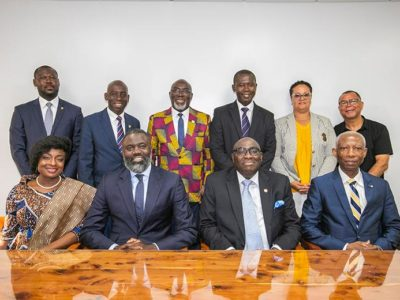 Minister Caines Meets WithGhanaian High Commission of London