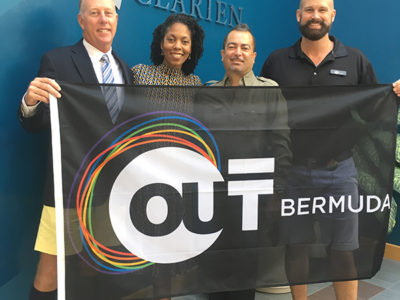 Clarien Donates $10,000 to OUTBermuda in 'Ongoing Commitment to Diversity & Inclusion'