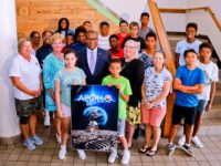 Minister Welcomes Students Participating in Inaugural Summer Space Camp