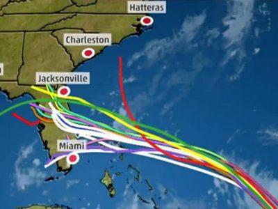 Hurricane Dorian Heading For The Bahamas & Puerto Rico