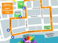 No Full Road Closures in City of Hamilton For Inaugural Pride Parade on August 31