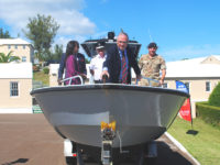 Regiment's New Patrol Boat Commissioned & Christened '41 Juliet'