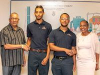 Two Young Bermudian Men Pursuing Pursuing Civil Engineer Licenses Through Joint Initiative