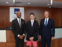 Conor Sinclair Selected as 2019 AXA XL Scholar