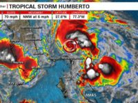 Humberto Now a Potential Threat to Bermuda &  Expected to Become a Category 2 Hurricane