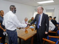 Minister Caines Meets With Governor, UK OT Director