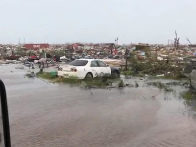 The Bahamas: Images Emerge of Widespread Devastation in the Aftermath of Hurricane Dorian