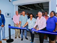 Tourism Minister Officially Opens New Terminal Building at King's Wharf in Dockyard