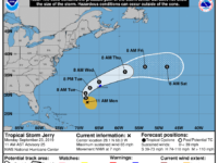 Business Resumes as Usual in Lead Up to Potential Impacts of Tropical Storm Jerry