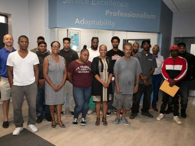 Labour Minister Extends Support & Encouragement to new Trainees in Masonry Training Programme