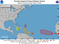 NHC: Jerry Downgraded to a Tropical Storm Overnight While Approaching Bermuda