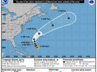 TS Jerry: Impacts Expected 'Tuesday Into Early Wednesday as it Passes Less Than 100nm From Bermuda'