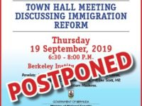 Immigration Reform Town Hall Meeting Postponed Due to Storm