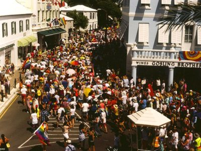 OUT Features Bermudians: 'Meet The Faces of Bermuda's First-Ever Pride' Parade