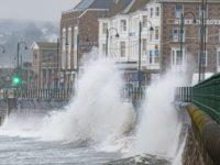 Hurricane Lorenzo Brings Flood Warnings to England & Wales