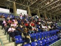 National Stadium Sold Out for 'David vs Goliath' by Kim Swan, SportsZone Magic 102.7FM