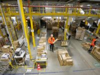 UK Amazon Warehouse Staff 'Treated Like Slaves' With Long Shifts & Short Breaks
