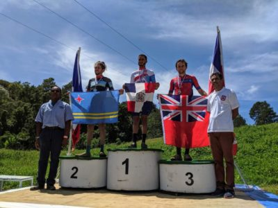 Robin Horsfield Places Third in Under 23 Caribbean Mountain Biking Championships
