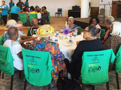 BPS Hosts Biggest Tea Party To Date For 520 Seniors Highlight of Police Week 2019