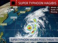 Forecasters Warn Typhoon Hagibis Could Impact Britain After Devastation in Japan