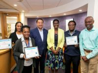 Department Recognizes Top Performing Labour Force Survey Interviewers