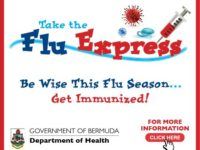 'Time to Take The Flu Express' – Vaccine Available as of November 6