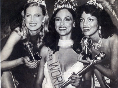 Gina Swainson: Forty Years Later & Still The Only Bermudian To Be Crowned Miss World