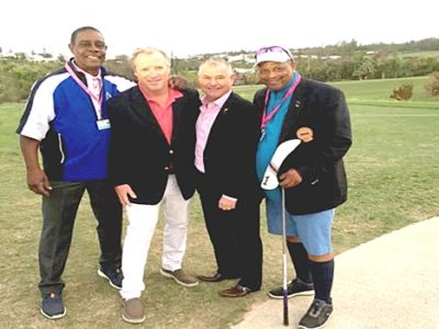 Kim Swan's Shot to Launch Bermuda Championship Featured by African American Golfer's Digest
