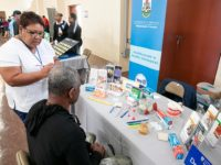 Acting Health Minister Attends Men's Health Screening Event